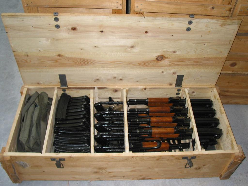 Как сделать оружейный ящик