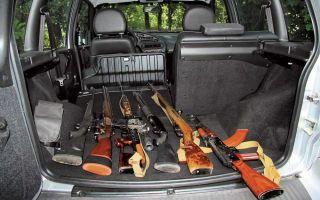 Основные моменты в правилах перевозки и транспортировки оружия