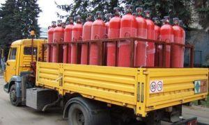 Правила безопасной перевозки кислородных баллонов специальным автомобильным транспортом