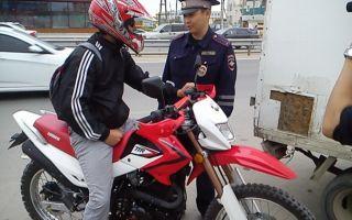 Размеры штрафов за езду без прав на мотоцикле