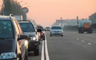 Наказание за езду по дороге с односторонним движением в обратном направлении
