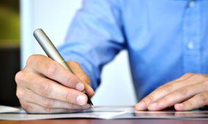 Особенности заполнения заявления для прохождения регистрации автомобиля в ГИБДД
