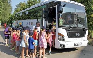 Основные правила организованных перевозок группы детей автобусами