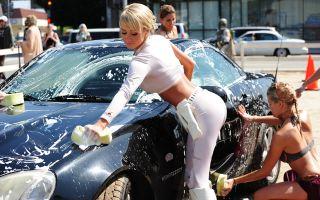 Особенности штрафов за мытье машины во дворе