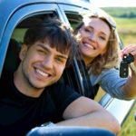 Счастливые обладатели автомобиля