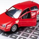 Калькулятор и автомобиль