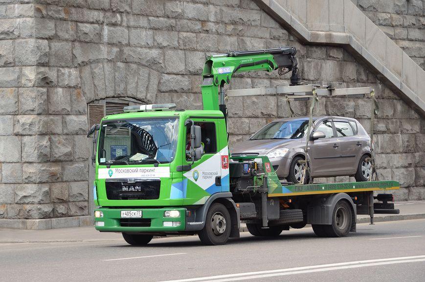 Правила эвакуации автомобилей на штрафстоянку