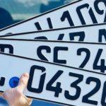 Европейские номера на авто