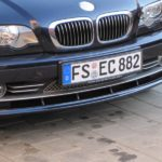 Автомобиль с немецким номером